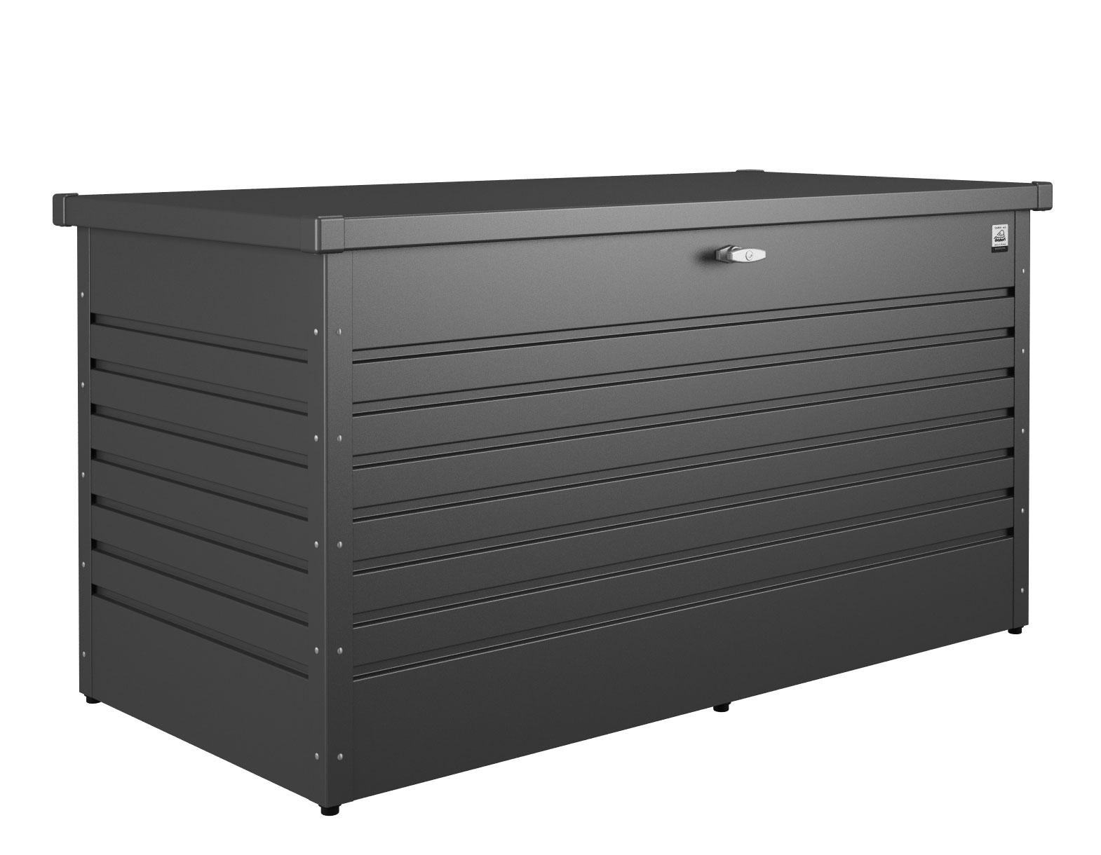 Gartenbox Auflagenbox Biohort Freizeitbox 160 dunkelgrau-metallic Bild 1