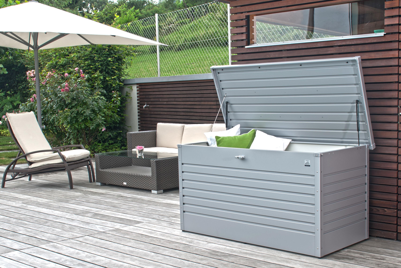 Gartenbox Auflagenbox Biohort Freizeitbox 160 weiss Bild 2