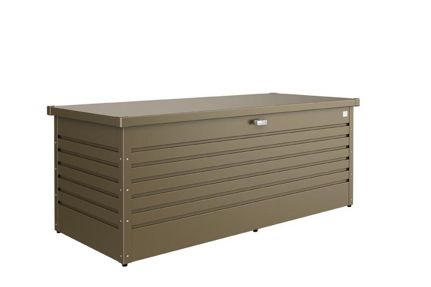 Gartenbox / Auflagenbox Biohort Freizeitbox 180 bronze-metallic Bild 1