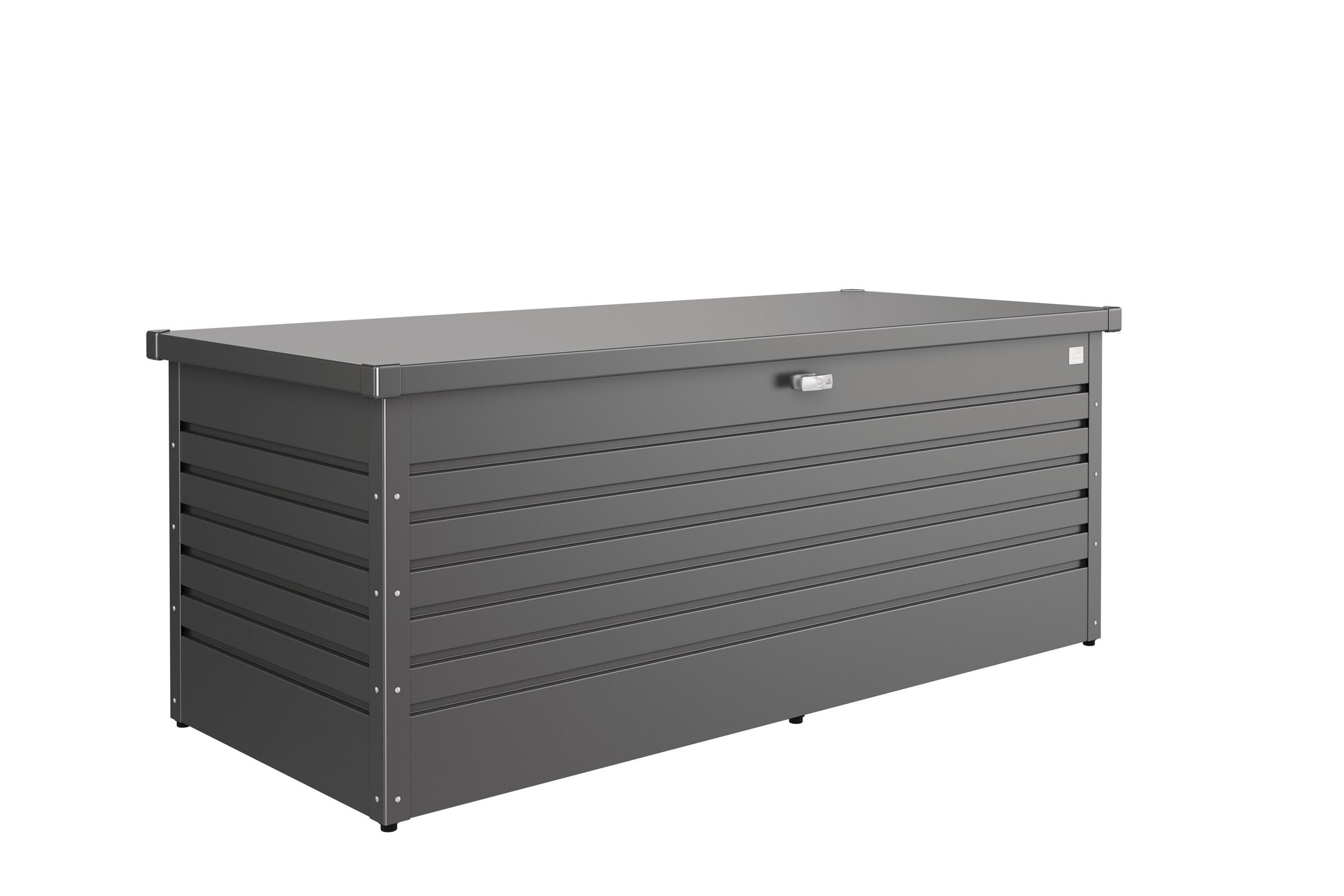 Gartenbox Auflagenbox Biohort Freizeitbox 180 dunkelgrau-metallic Bild 1