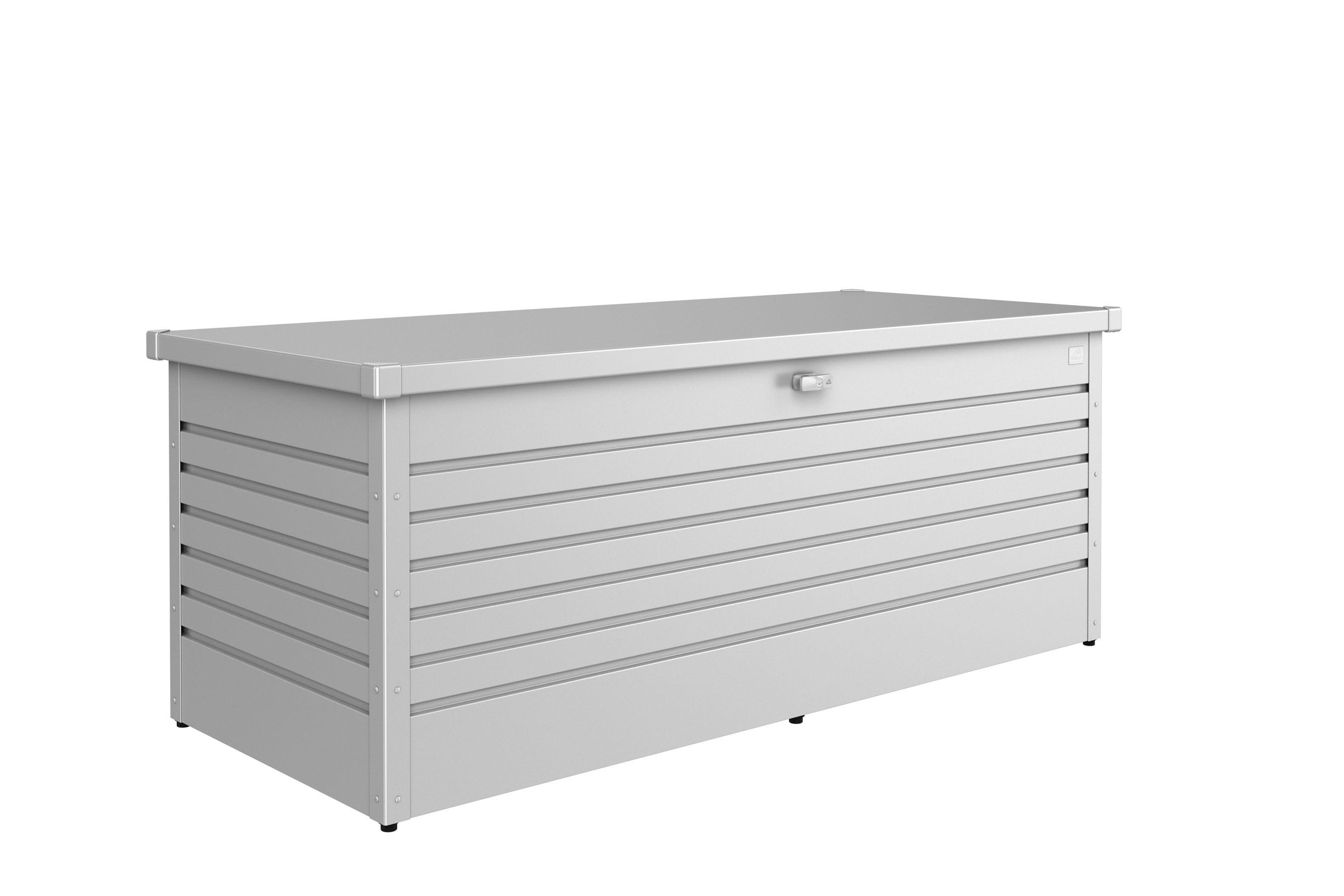 Gartenbox Auflagenbox Biohort Freizeitbox 180 silber-metallic Bild 1
