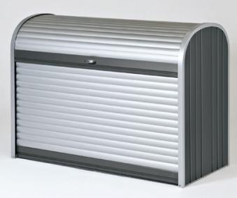 Gartenbox / Auflagenbox Biohort Storemax 120 dunkelgrau-metallic Bild 1
