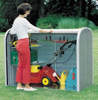 Gartenbox / Auflagenbox Biohort Storemax 160 dunkelgrau-metallic Bild 3