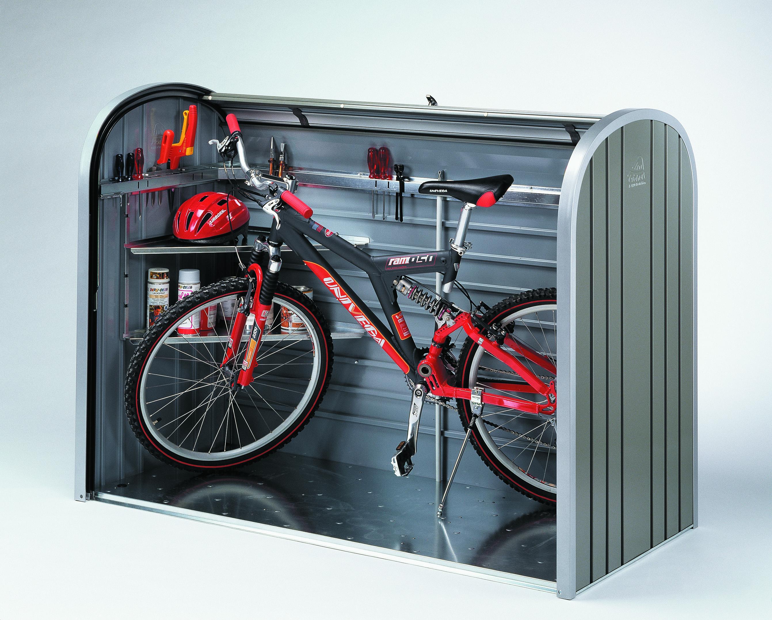 Gartenbox / Auflagenbox Biohort Storemax 160 quarzgrau Bild 2