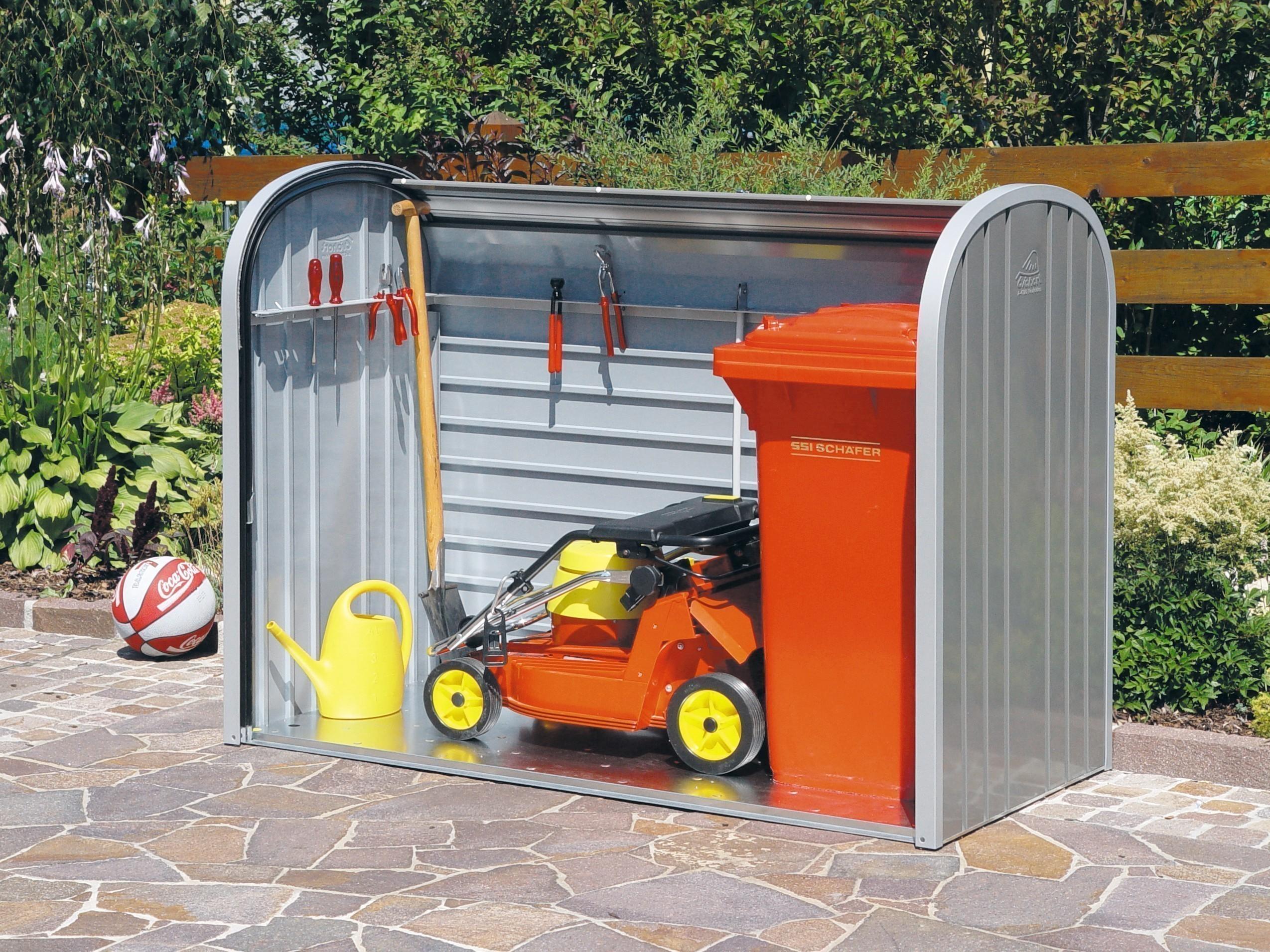 Gartenbox / Auflagenbox Biohort Storemax 160 quarzgrau Bild 4