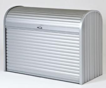 Gartenbox / Auflagenbox Biohort Storemax 160 silber-metallic Bild 1