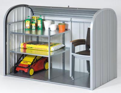 Gartenbox / Auflagenbox Biohort Storemax 190 dunkelgrau-metallic Bild 3