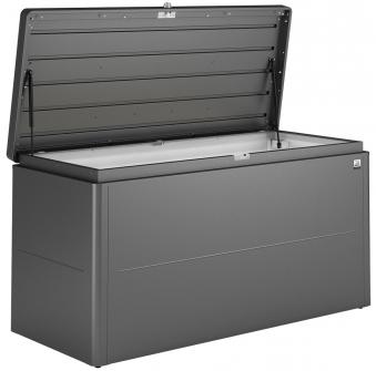 Gartenbox Biohort LoungeBox Gr. 160 dunkelgrau-metallic 160x70x83,5cm Bild 1
