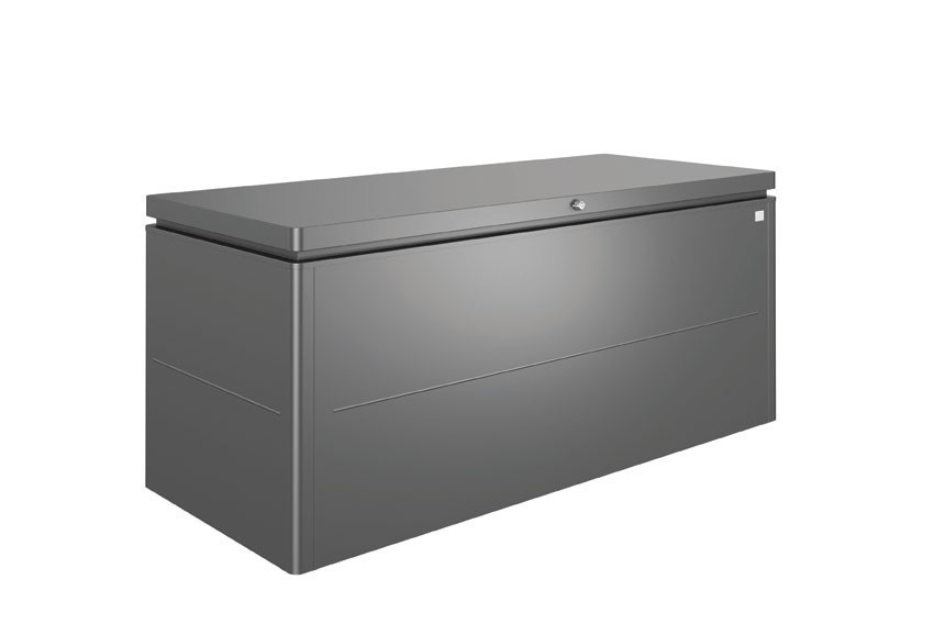 Gartenbox Biohort Loungebox Gr. 200 dunkelgrau-metallic 200x84x88,5cm Bild 1