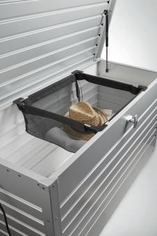 Einhängesack Typ C für Biohort Freizeitbox 160/180 schw. 68,5x67x20cm