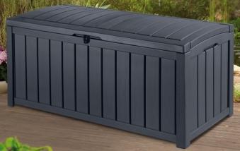Gartenbox / Kissenbox Glenwood Kunststoff Keter 128x65x61 anthrazit Bild 1