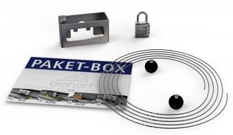 Paket-Box Kit / Umrüstsatz für Biohort Freizeitbox Bild 1
