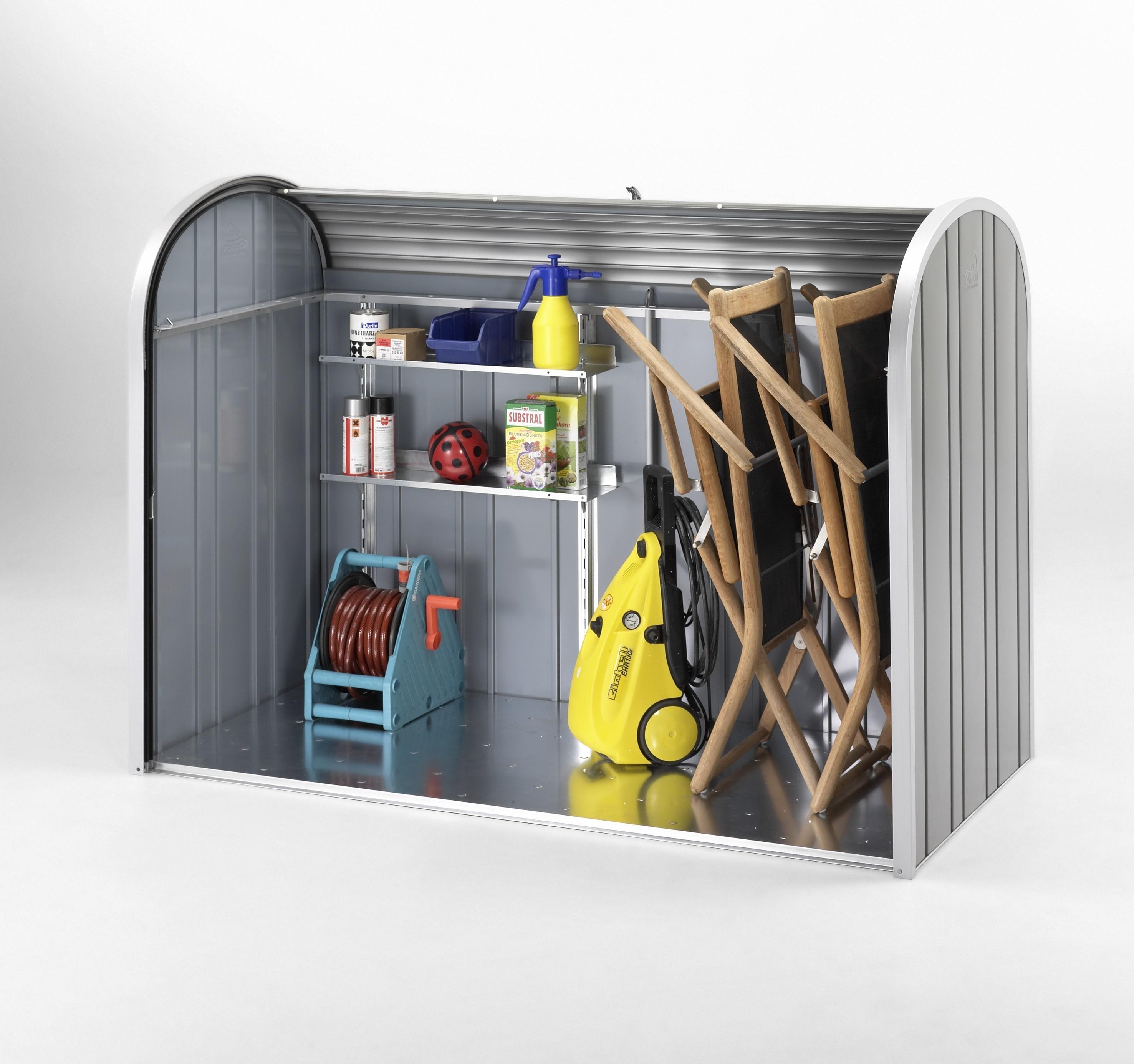 Regale Set Biohort für Gartenbox / Auflagenbox Storemax 190 Bild 2