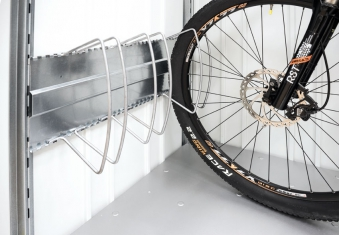Fahrradständer-Set bikeHolder Biohort für Gartenbox StoreMax 190