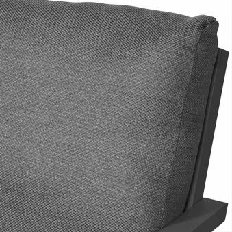 Aluminium Lounge Sofa 3-Sitzer Siena Garden Belia anthrazit/grau Bild 3