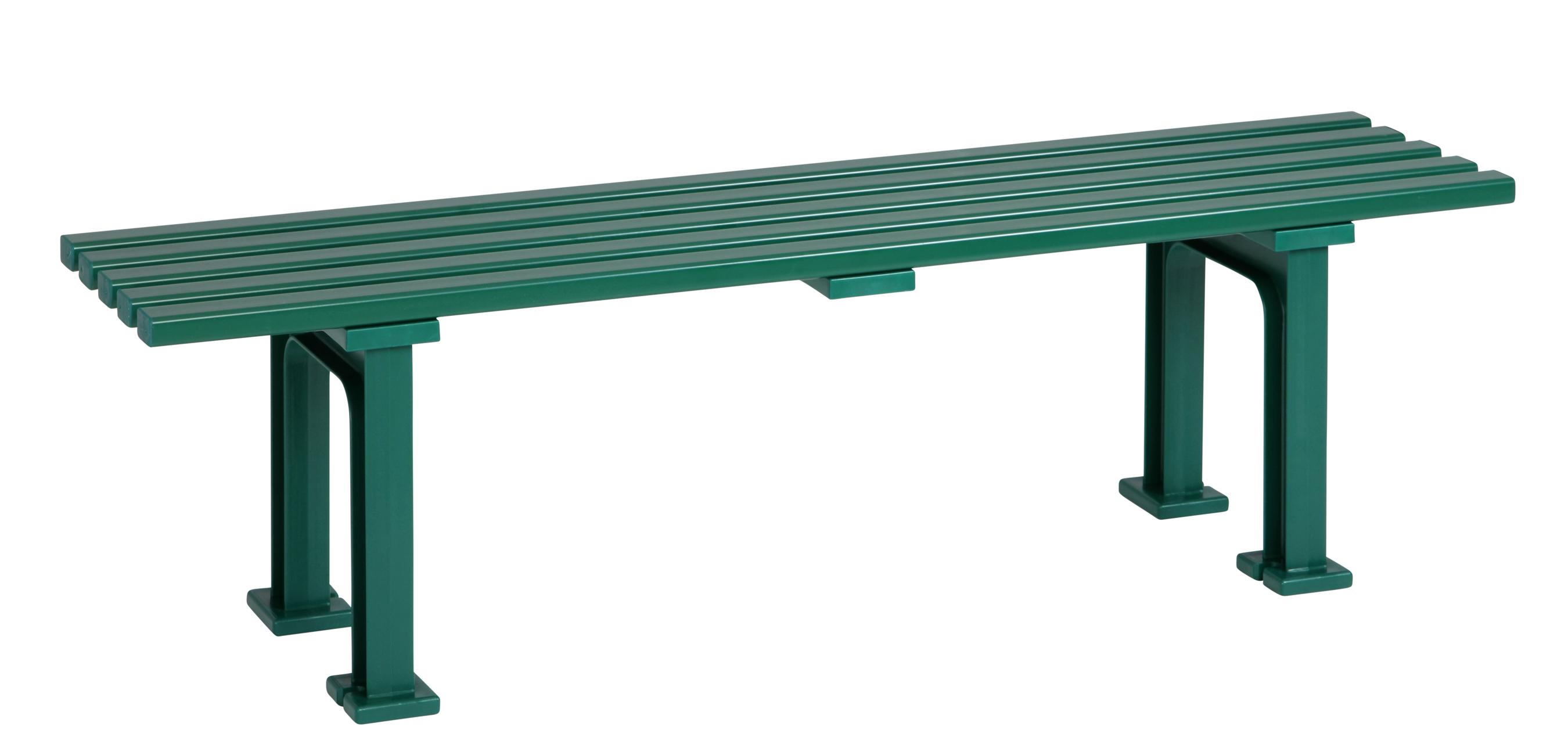 Blome Gartenbank / 3-Sitzer Bank Mono I Kunststoff grün 150cm Bild 1