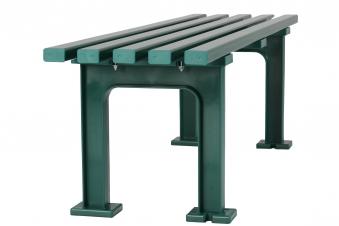 Blome Gartenbank / 3-Sitzer Bank Mono I Kunststoff grün 150cm Bild 3