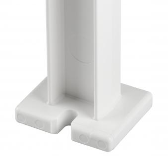 Blome Gartenbank / 4-Sitzer Bank Mono II Kunststoff weiß 200cm Bild 2