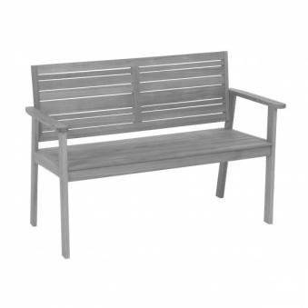 Gartenbank / 2-Sitzer Bank Greemotion Maui Akazienholz 120x83x58 cm Bild 1