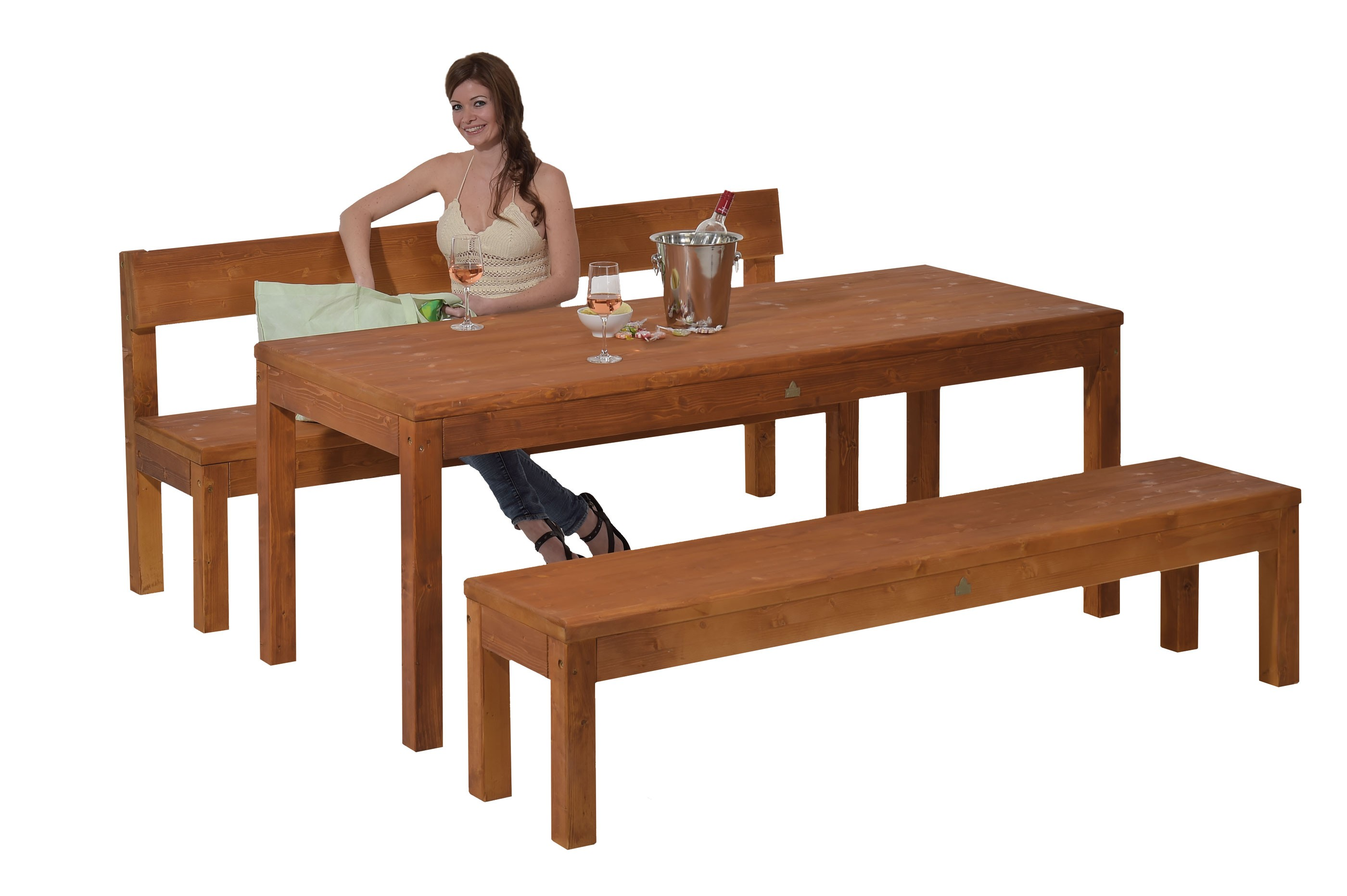 gartenbank graz impr gniert 150cm bei. Black Bedroom Furniture Sets. Home Design Ideas