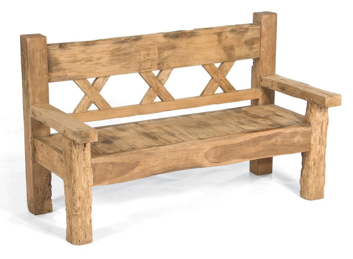 gartenbank jumbo 2 sitzer sonnenpartner old teak bei. Black Bedroom Furniture Sets. Home Design Ideas