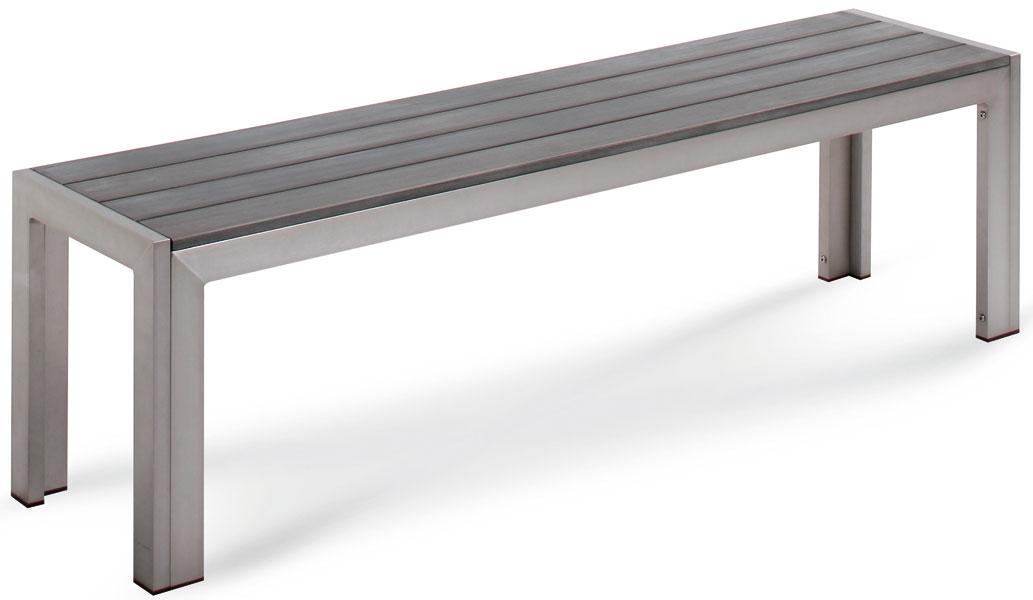 gartenbank kunststoff holzoptik 121122 eine. Black Bedroom Furniture Sets. Home Design Ideas