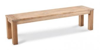 Gartenbank Moretti Best Teak 170x42cm grey-wash Bild 1