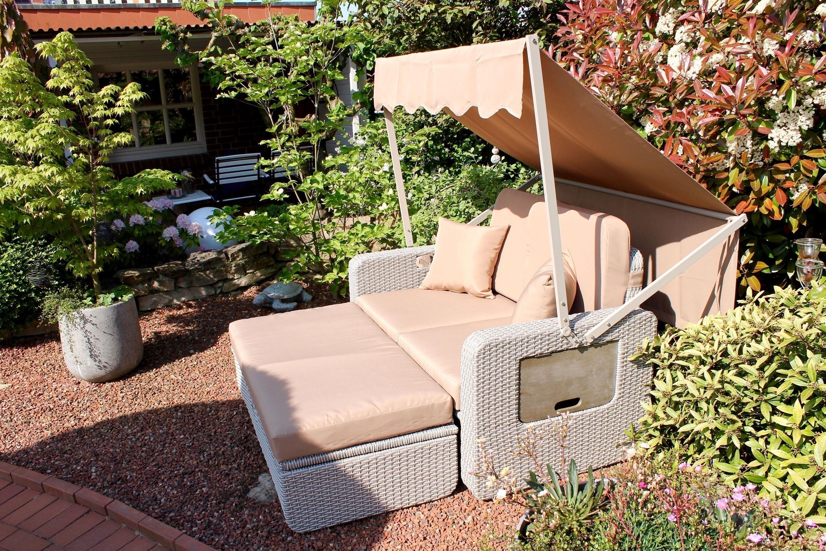 Frisch Gartenbank Mit Dach Design