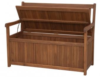 Siena Garden Gartenbank / Auflagenbox Melton 2-Sitzer Akazienholz Bild 2