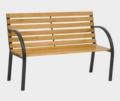 Siena Garden Gartenbank / Parkbank 2 Sitzer Menorca Metallgestell Bild 1