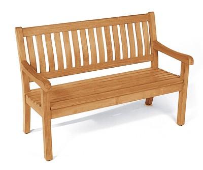 Sonnenpartner Gartenbank 2 Sitzer Wales Teak Bild 1