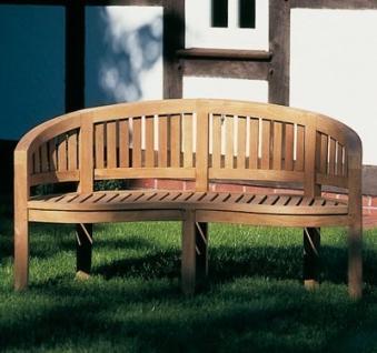 Sonnenpartner Gartenbank 3 Sitzer Castle Garden Teak Bild 2