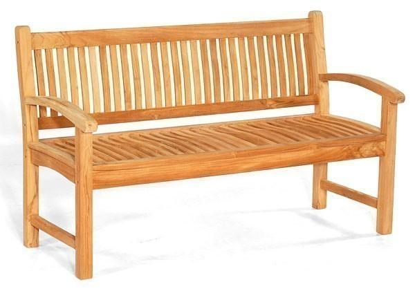 sonnenpartner gartenbank 3 sitzer fontana teak bei. Black Bedroom Furniture Sets. Home Design Ideas