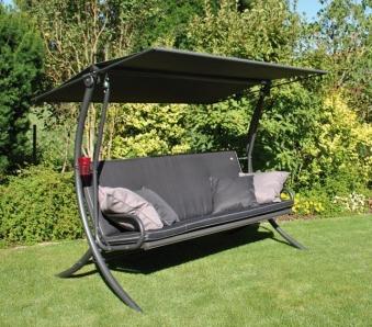 sung rl hollywoodschaukel royal style stahl anthrazit bei. Black Bedroom Furniture Sets. Home Design Ideas