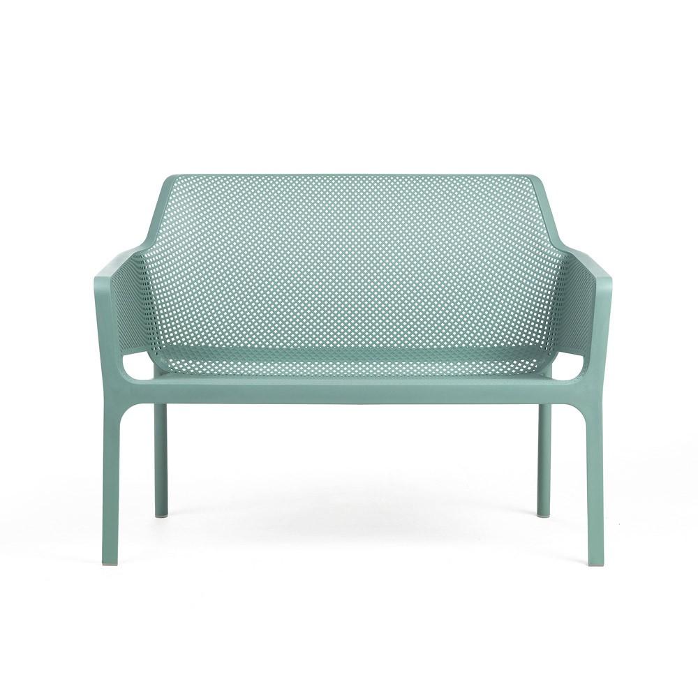 Nardi Gartenbank / 2-Sitzer Net Bench stapelbar Kunststoff salice Bild 1