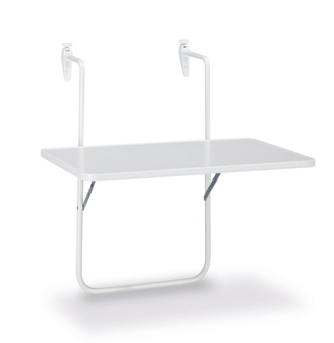 balkontisch h ngetisch boy 60x40cm stahl kunststoff. Black Bedroom Furniture Sets. Home Design Ideas