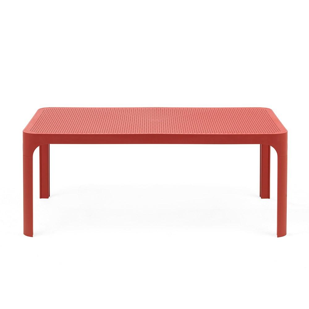 Nardi Gartentisch Net Table 100 Kunststoff 100x60cm corallo Bild 1