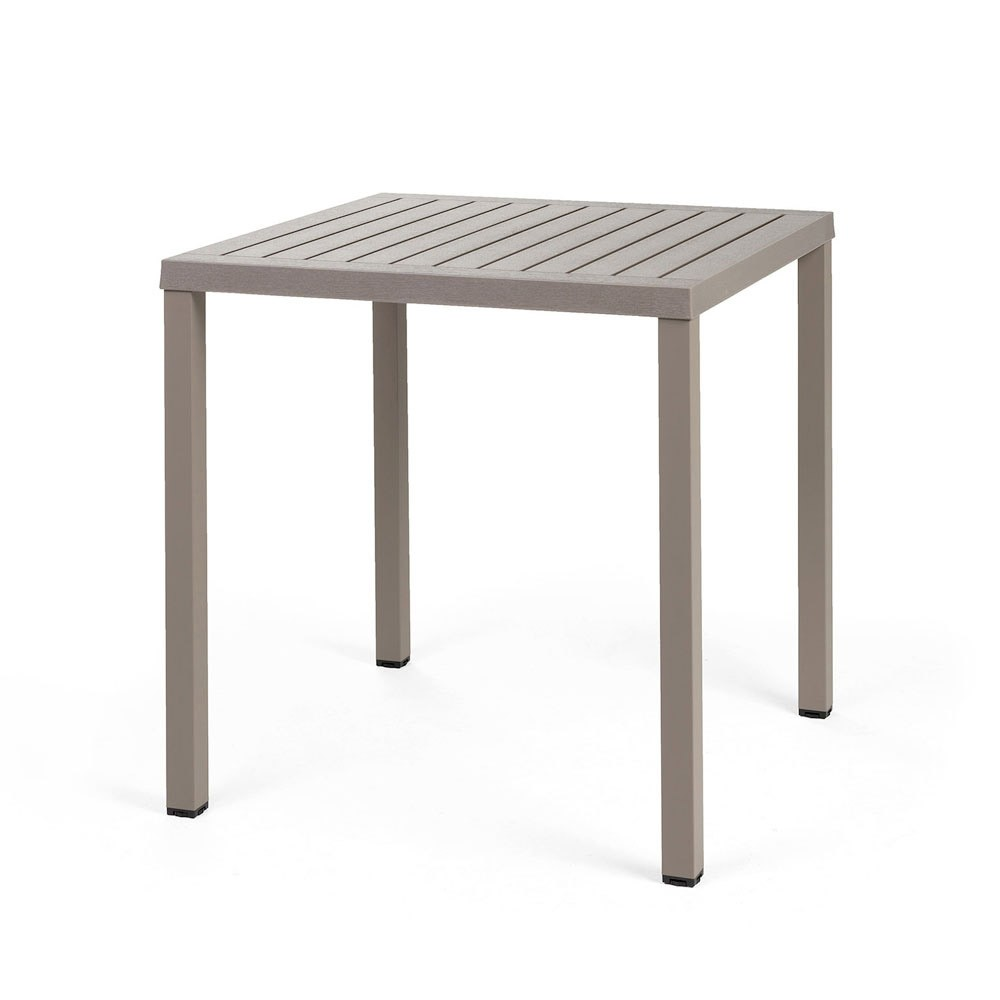 Nardi Gartentisch / Stapeltisch Cube 70 Kunststoff 70x70cm tortora Bild 1