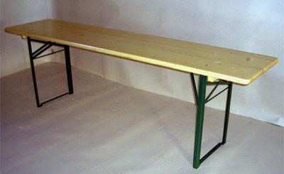 Biertisch / Festzelttisch / Bierzelttisch 220x50cm Bild 1