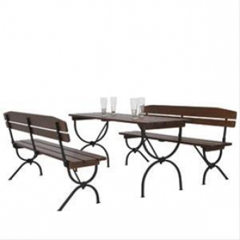 festzeltgarnitur bierzeltgarnitur bavaria mit lehne tisch 60 cm bei. Black Bedroom Furniture Sets. Home Design Ideas