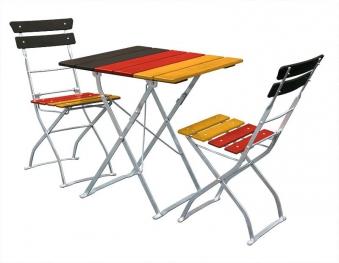 balkonm bel biergartenm bel set 3 teilig deutschland 70x70cm bei. Black Bedroom Furniture Sets. Home Design Ideas