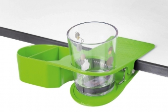 Becherhalter / Getränkehalter Brunner Drinkmaster grün Bild 1