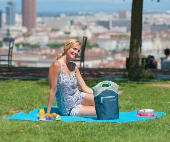 Campingaz Kühltasche Sand Weinkühler 7 Liter Bild 4