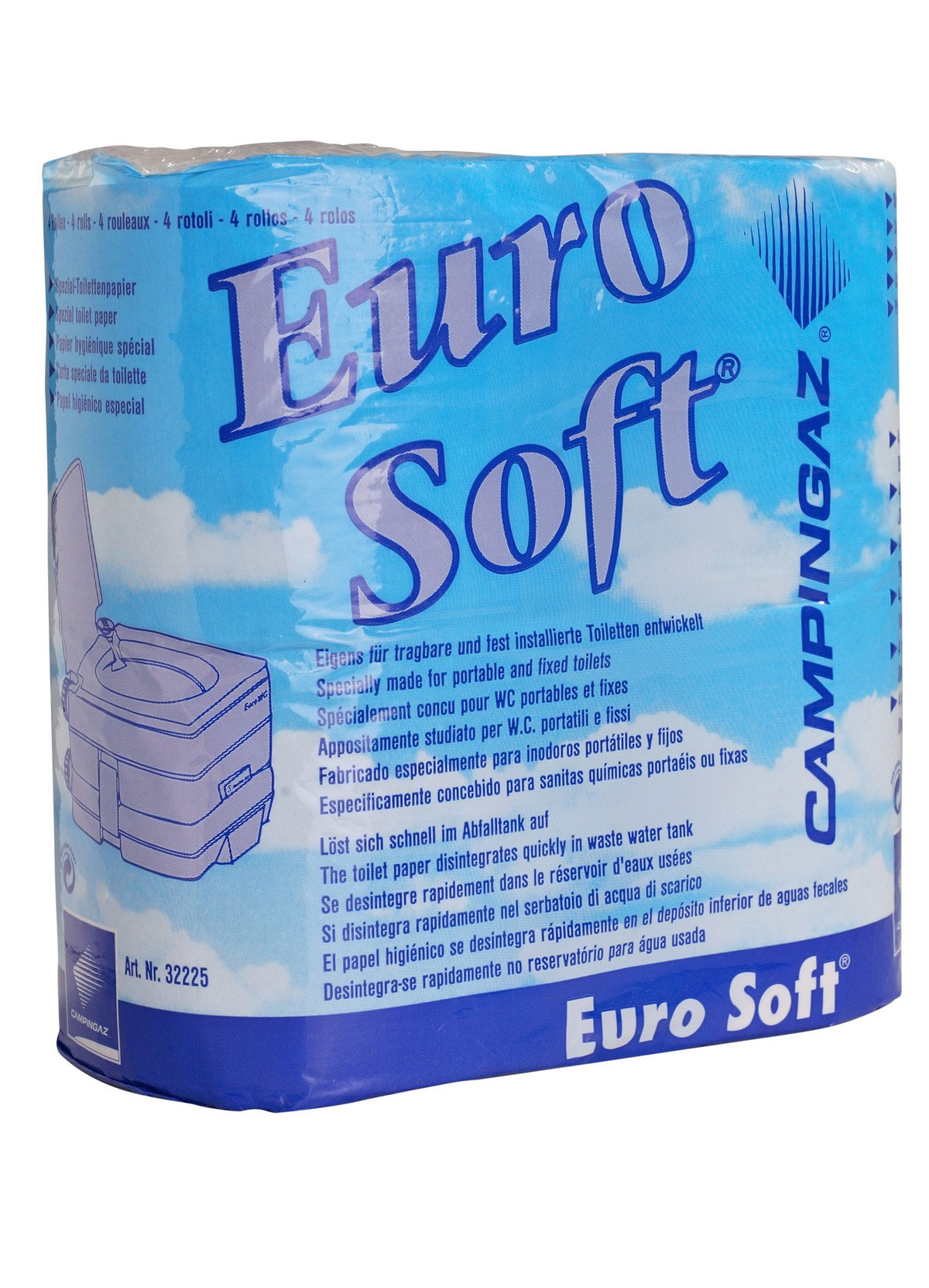 Campingaz Toilettenpapier Spezial Eurosoft Camping / Chemietoilette Bild 1