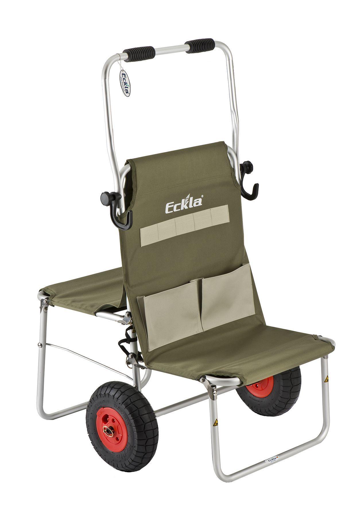 Eckla Multi Rolly Transportwagen klappbar luftbereift Bild 1
