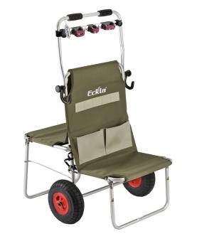 Eckla Multi Rolly Transportwagen mit Multileiste klappbar luftbereift Bild 1