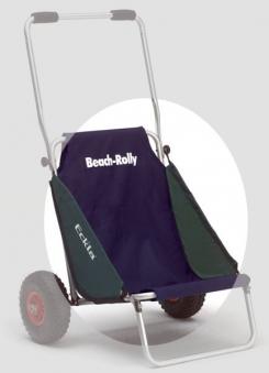 Eckla Sitztuch für Beach Rolly blau / grün Bild 1