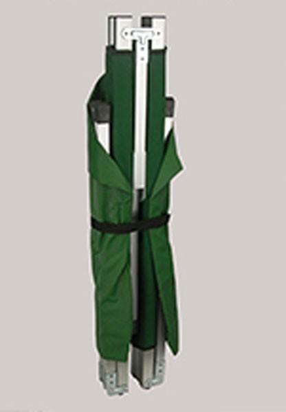 Feldbett / Klappbett 210x80cm Alu grün Bild 2