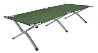 Feldbett / Klappbett 210x80cm Alu grün Bild 1