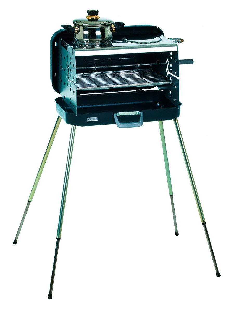 gasgrill koffergrill dometic classic 2 2 flammig edelstahl 43x24cm bei. Black Bedroom Furniture Sets. Home Design Ideas